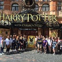Students at Premiere of Harry Potter Play.jpg